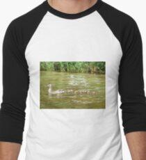 A Dozen Ducklings Men's Baseball ¾ T-Shirt