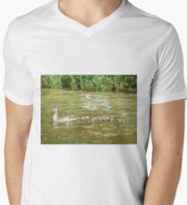 A Dozen Ducklings Men's V-Neck T-Shirt