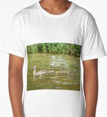 A Dozen Ducklings Long T-Shirt