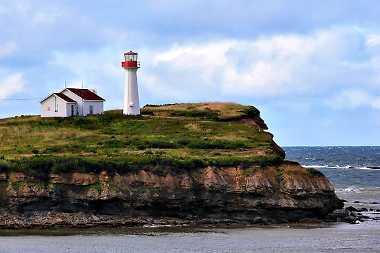 Point Aconi Light by PhotosByHealy