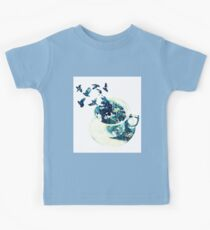 Birds Of A Coffee Cup Kids Tee