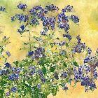Flowers in the Garden by Albert