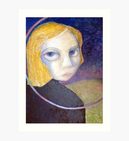 moonlit eyes Art Print