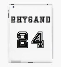 Rhysand jersey iPad Case/Skin