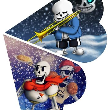Sans and Papyrus by Nigrecent