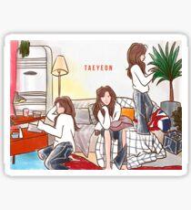 TAEYEON - fine  Sticker