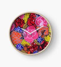 """Nala's Flowers"" by RomantzArt Clock"