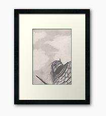 Orc warrior Framed Print