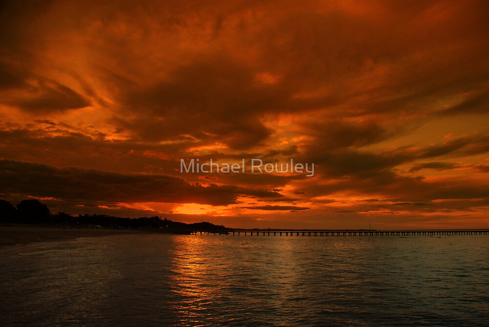 A Rye Sunset by Michael Rowley