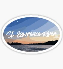 St. Lawrence River Sticker