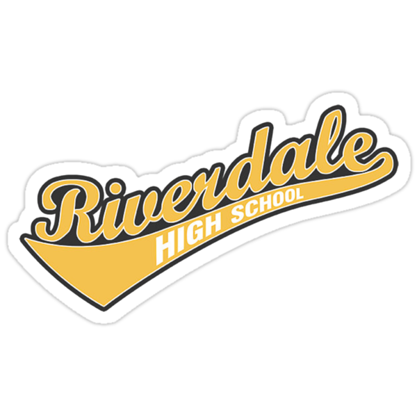 """""""riverdale High School Logo"""" Sticker Von Jaidenmarie. Printable Coupon Websites For Groceries. Moana Logo. Get Stickers Printed. Channel You Tube Banners. Bohemian Lettering. Nascar Decals. Prevention Infographic Signs Of Stroke. Business Person Banners"""