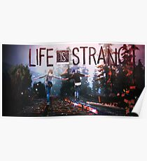 Life is Strange Friends for Life ccanvas Poster