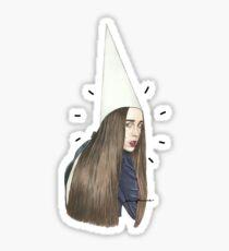 Allie the Dunce Sticker