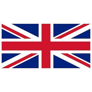 United Kingdom Flag - Union Jack T-Shirt by deanworld