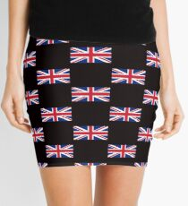 United Kingdom Flag - Union Jack T-Shirt Mini Skirt