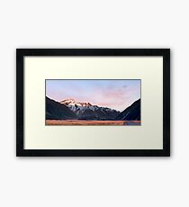 Sunrise over Aoraki / Mount Cook .2 Framed Print