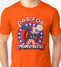 Funny Dabbing Uncle Sam 4th of July Independence Day T-shirt Unisex T-Shirt