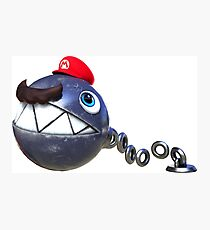 Super Mario Odissey - Chain Chomp Photographic Print