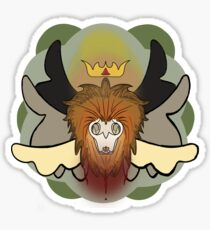 Dying King of the Savannah  Sticker