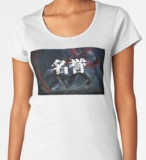 Akame Ga Kill Tatsumi Honor Kanji Anime Women's Premium T-Shirt