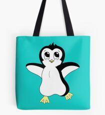 Dancing Penguin Tote Bag