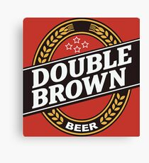 Double Brown - Nectar of the Gods Canvas Print