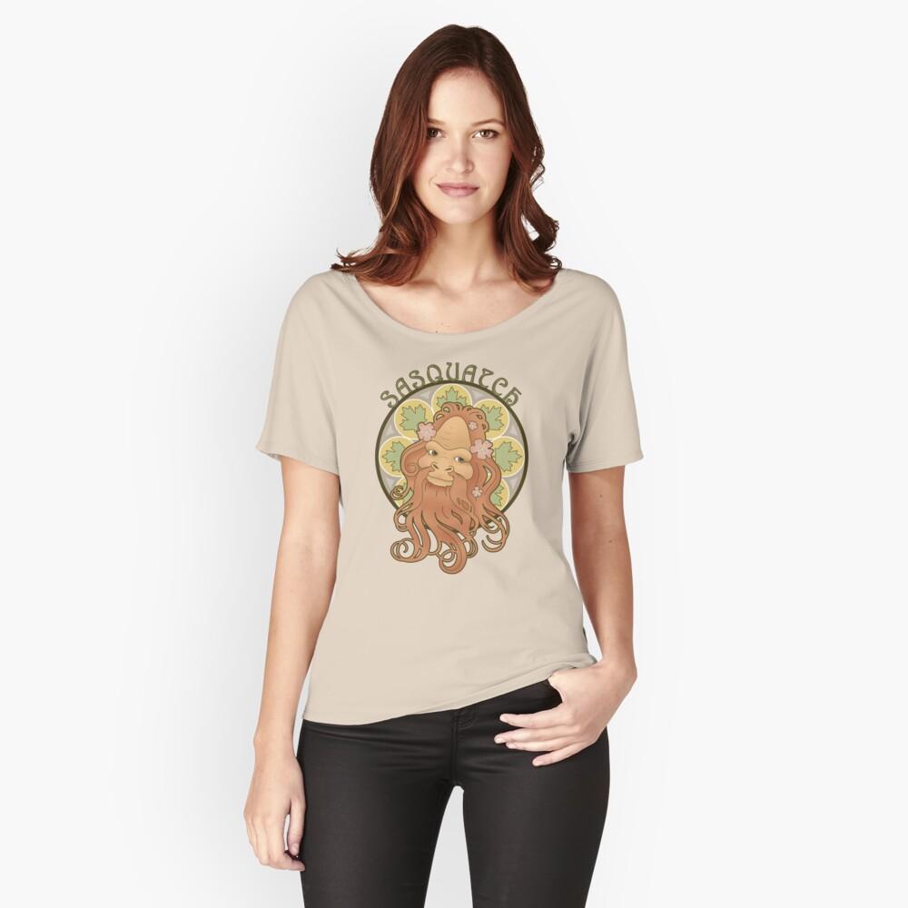 Art Nouveau Sasquatch Relaxed Fit T-Shirt