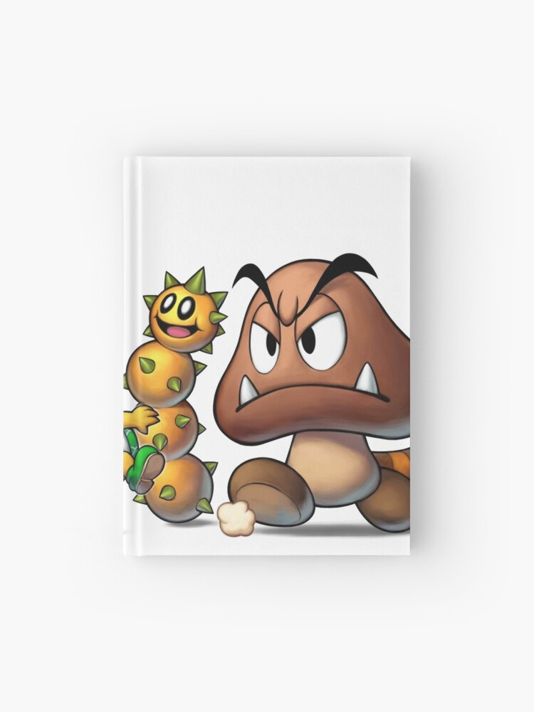 Mario Luigi Superstar Saga Bowser S Minions Hardcover Journal