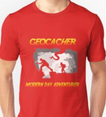 Geocacher Modern Day Adventurer T-Shirt