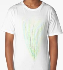 Blue green grass  Long T-Shirt
