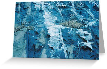 frozen waterfall by Fayetta