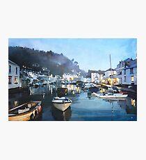 Polperro, Cornwall, Original Illustration. Photographic Print