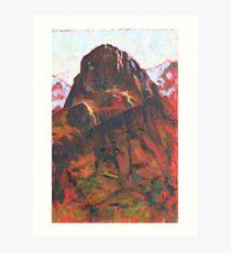 Glen Coe Art Print