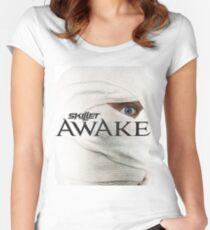 AWAKE Women's Fitted Scoop T-Shirt