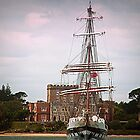 Tall Ship On The Solent - Dorset UK by naturelover