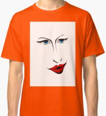 Face fun art illustration 01 Classic T-Shirt