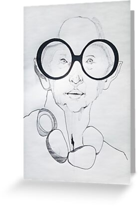 Iris Apfel Sketch by Meeng