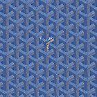 blue goyard by mantini