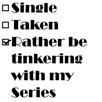 Rather be tinkering with my Series by 4x4Life