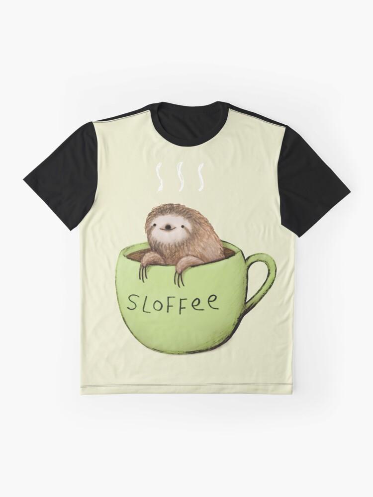 Vista alternativa de Camiseta gráfica Sloffee