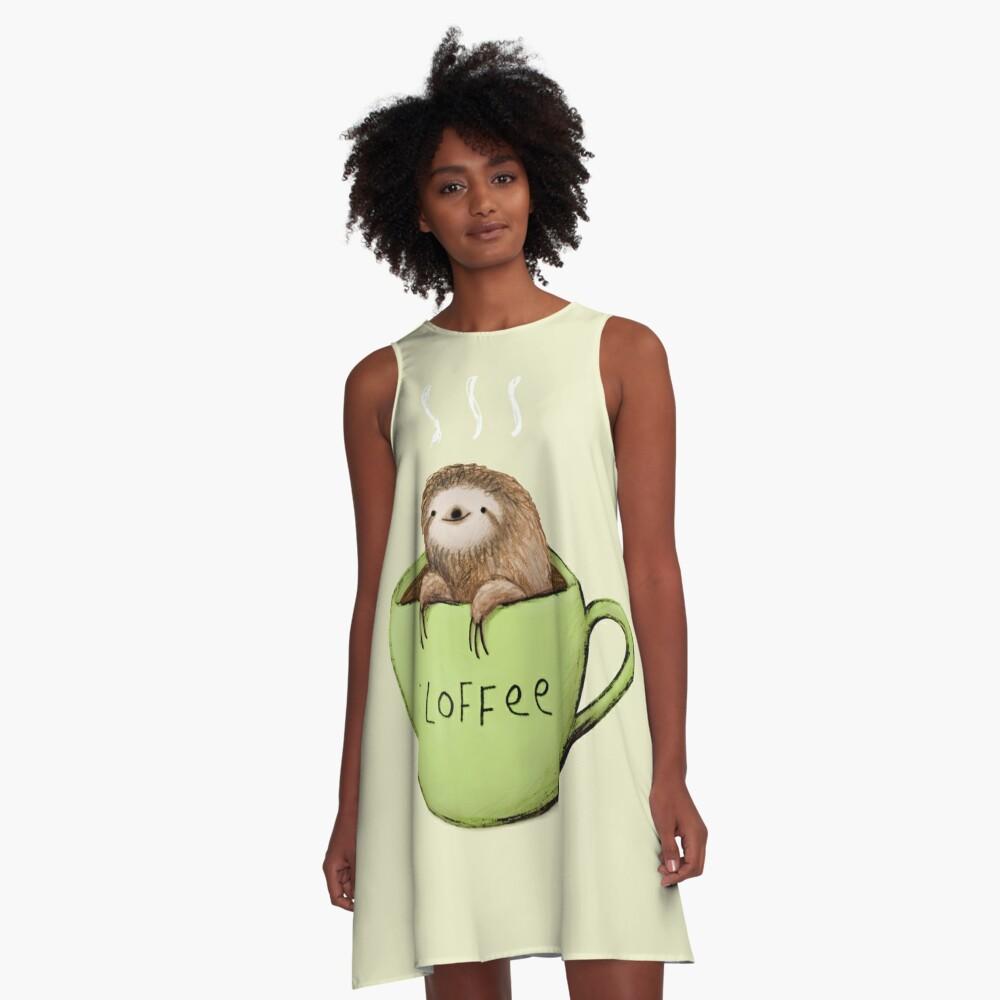 Slioffee A-Linien Kleid