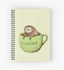 Sloffee Spiral Notebook