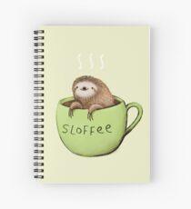 Sloffee Spiral Notebook