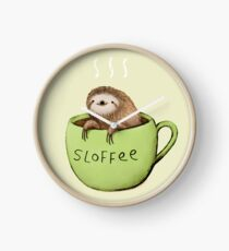 Sloffee Clock