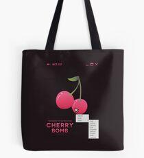 cherry bomb: select Tote Bag