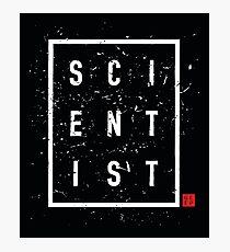 SCIENTIST 2 Photographic Print