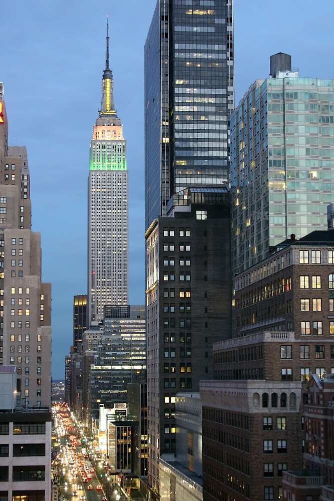 Empire State Building by SinaStraub