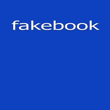 Cool Geek Parody Tee - Fakebook T-Shirt by deanworld