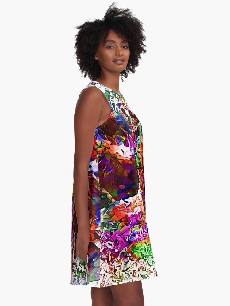 Alternate view of Paw Prints Next Generation 7 A-Line Dress