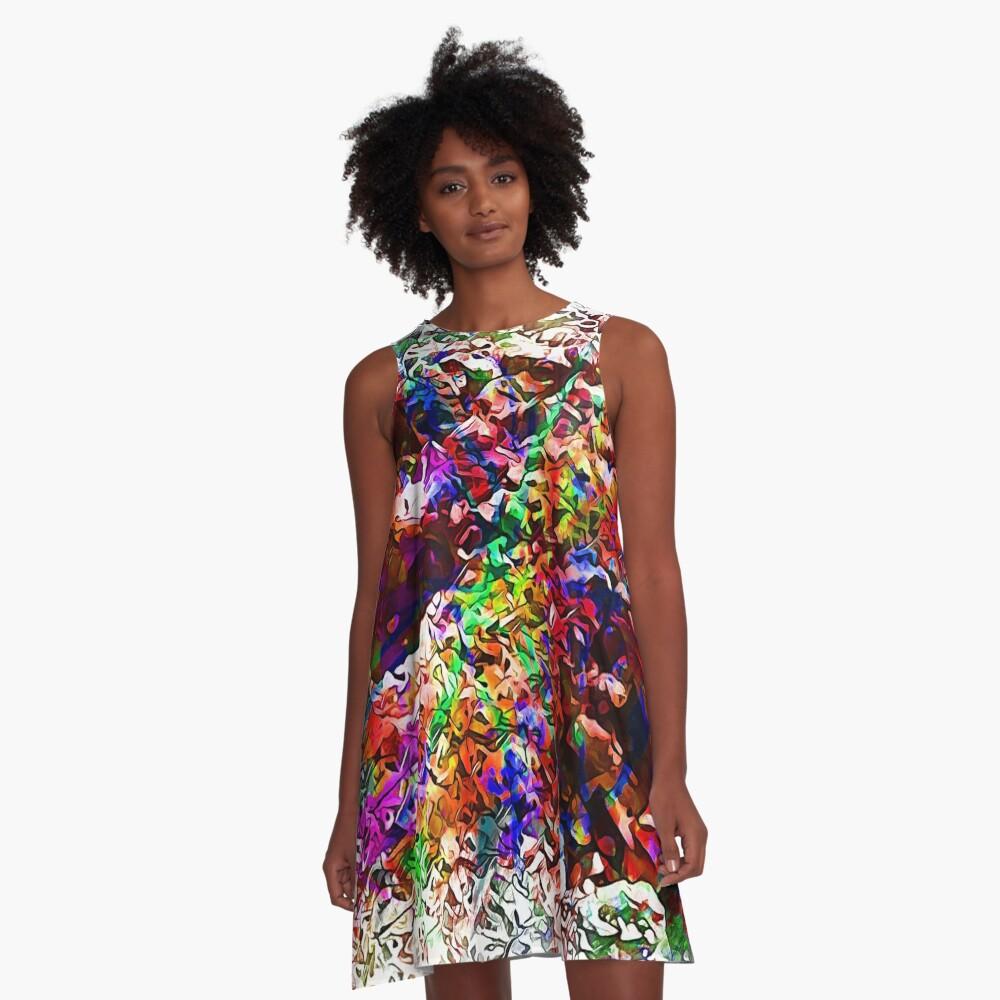 Paw Prints Next Generation 7 A-Line Dress